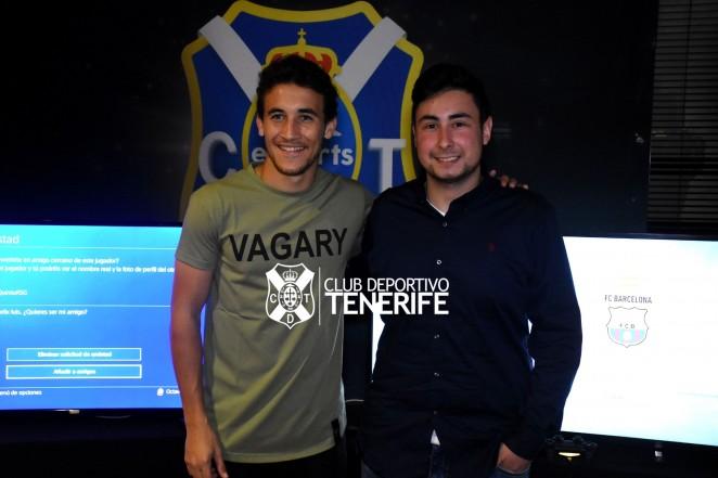 El Tenerife prepara varias actividades de ESports con sus aficionados