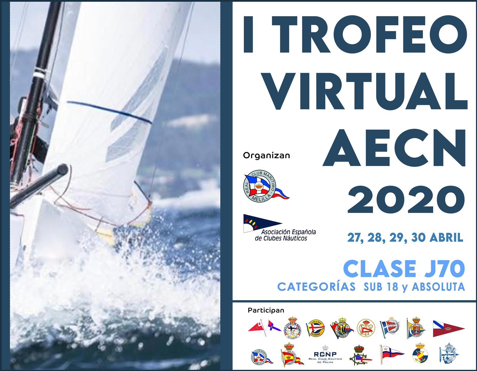 El Náutico colabora y participa en el I Trofeo Virtual AECN