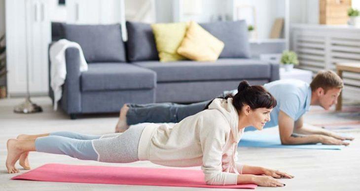 Cómo ponerte en forma en casa