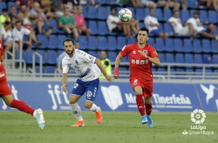 Casting para el lateral derecho del CD Tenerife