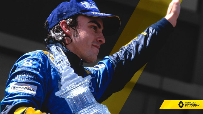 Fernando Alonso hace un guiño a su pasado más glorioso