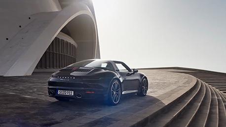 El nuevo Porsche 911 Targa pone a Tenerife en su escaparate mundial