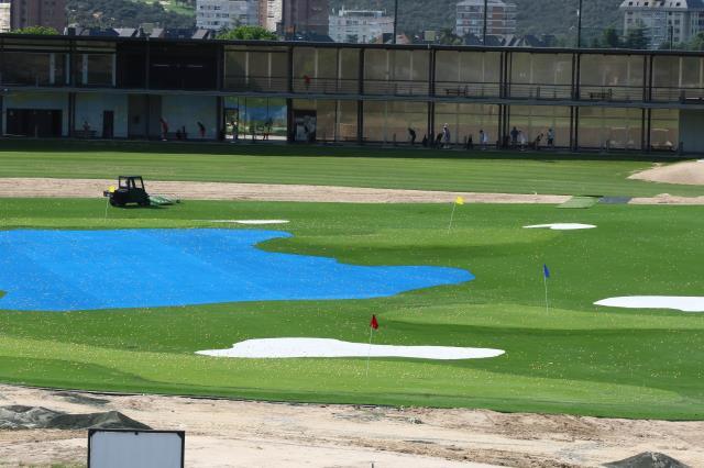 La Laguna toma una decisión sobre las canchas deportivas