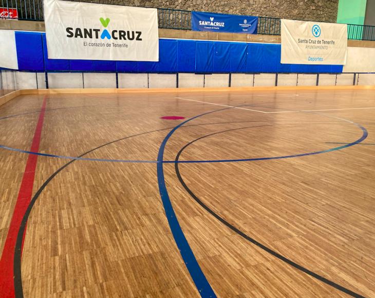 El Ayuntamiento de Santa Cruz mejora el Pabellón Pancho Camurria