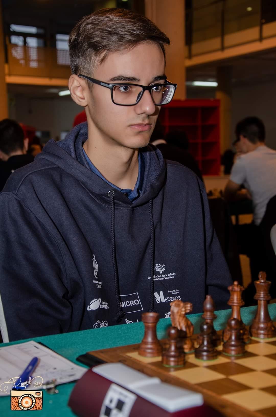 El ajedrecista Gabriel Pérez, campeón de Canarias Sub-18