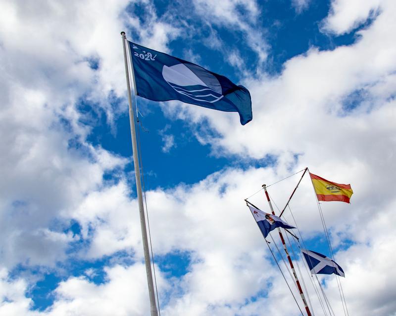 El RCNT, galardonado por séptima vez con la Bandera Azul