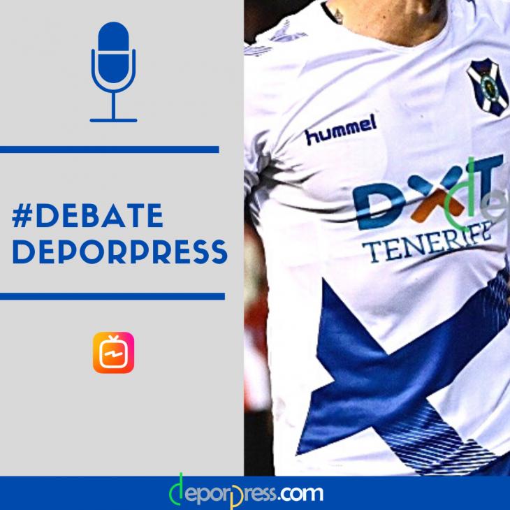 El #TenerifeRealZaragoza, analizado en #DebatesDeporpress