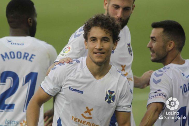 El Tenerife, el segundo equipo que menos cambios hace tras el parón