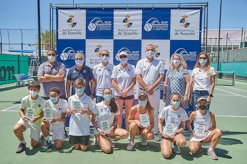 Oro y plata en el Campeonato Infantil de Tenerife